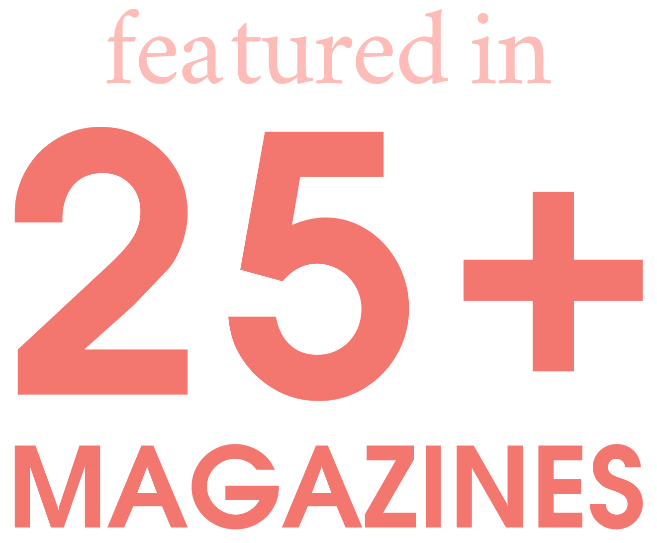 Featured in 25+ Magazines