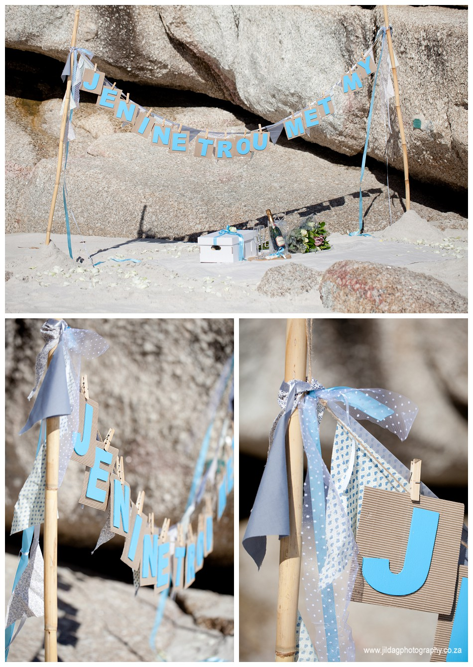 Engagement - beach proposal