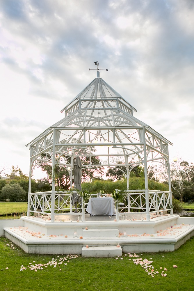 gazebo marriage proposal