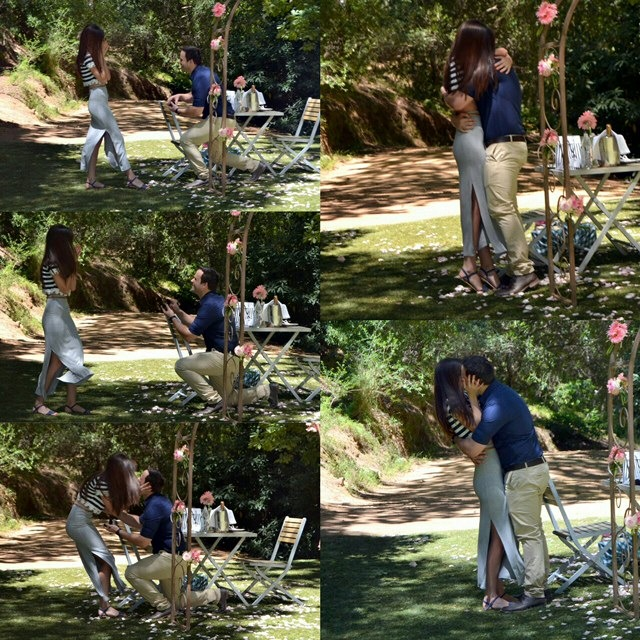 JC and Jen's romantic proposal