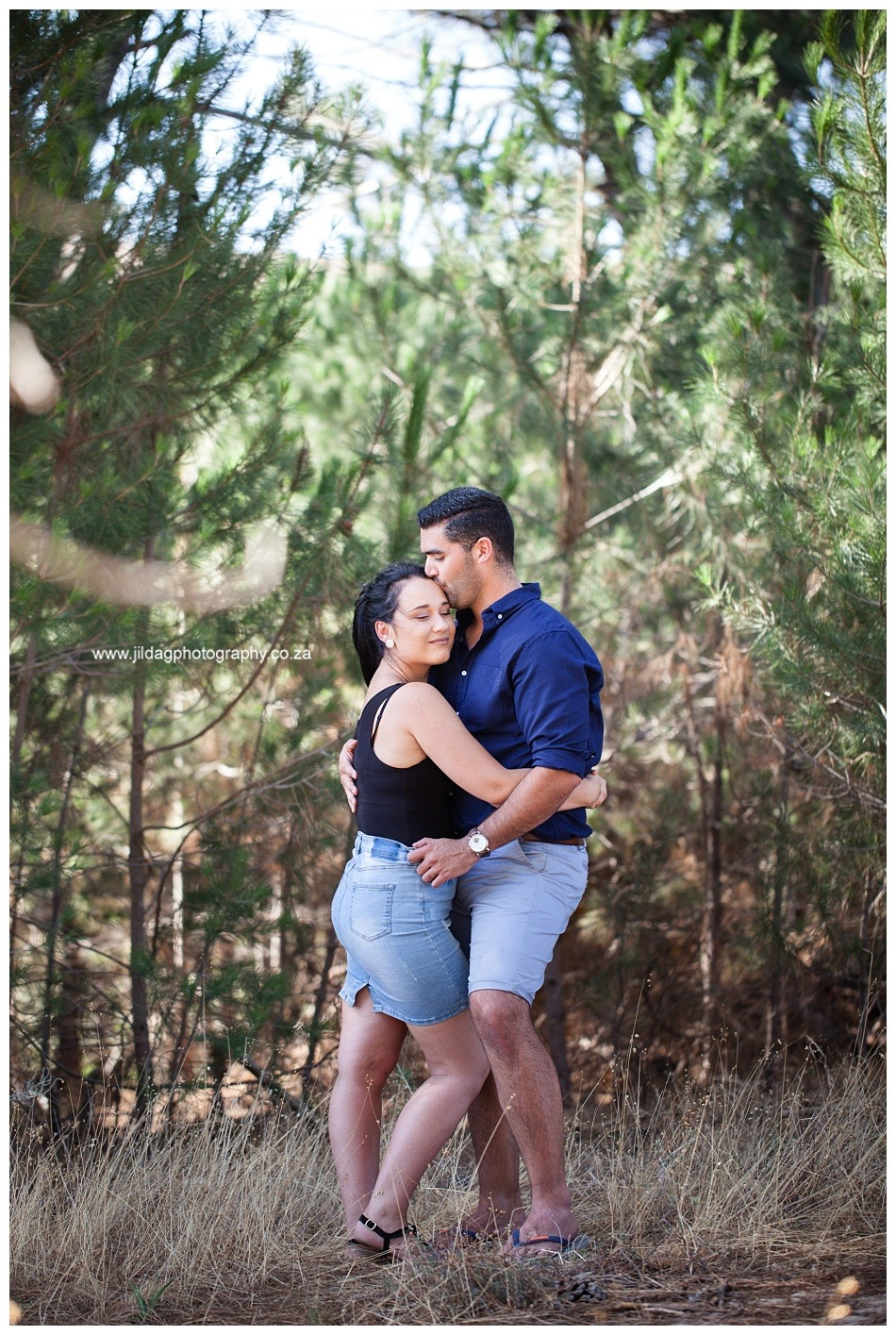Daniel and Blana proposal at Jordan Winery