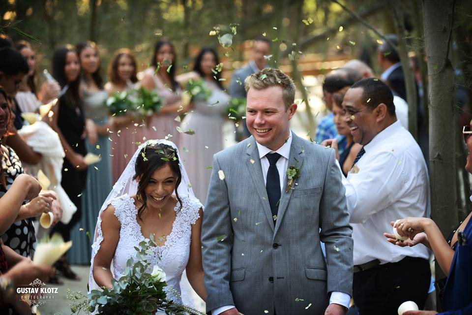Melissa and Ashley Wedding at Die Woud