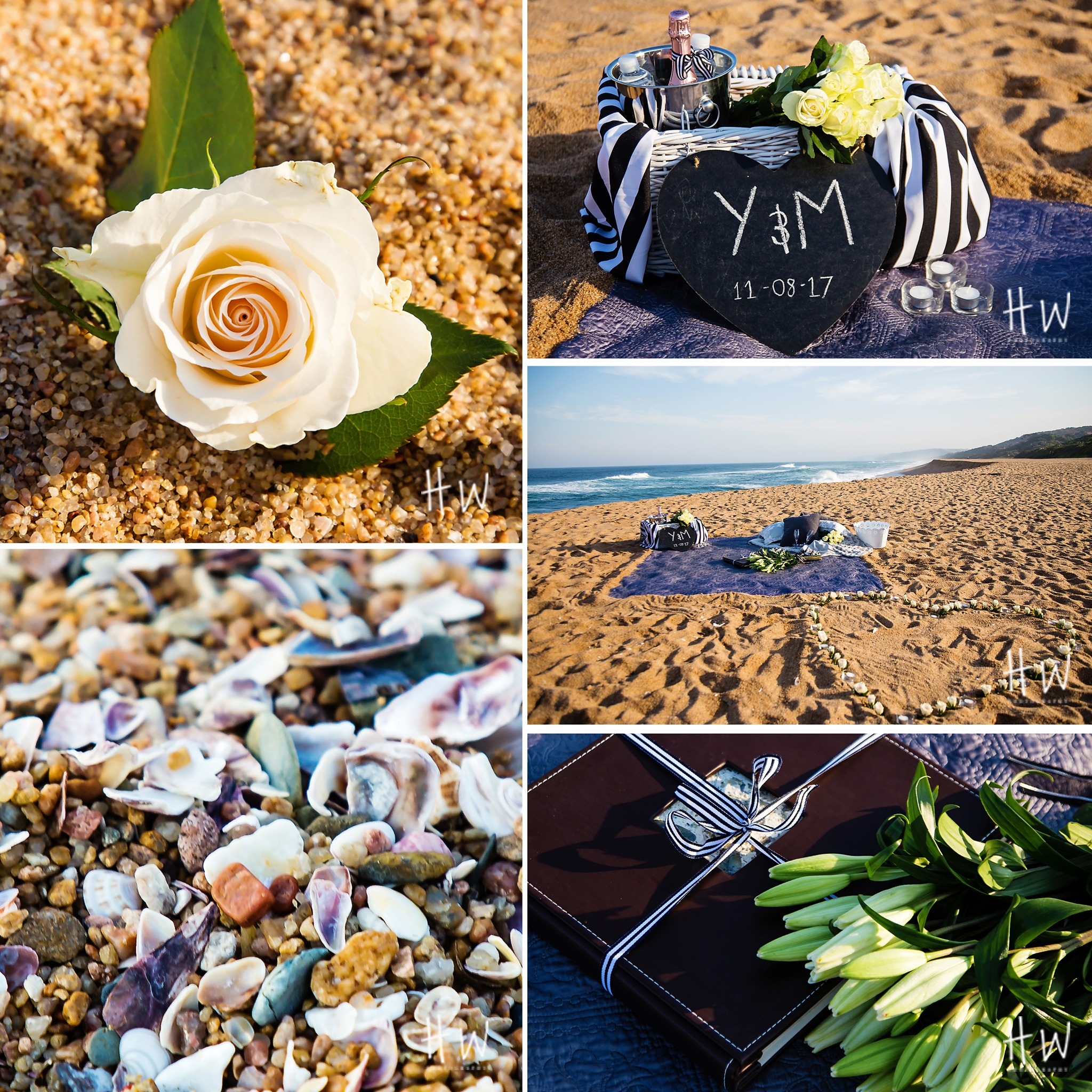Wedding Proposal Ideas Beach: Yudish And Mishara Marriage Proposal On The Beach