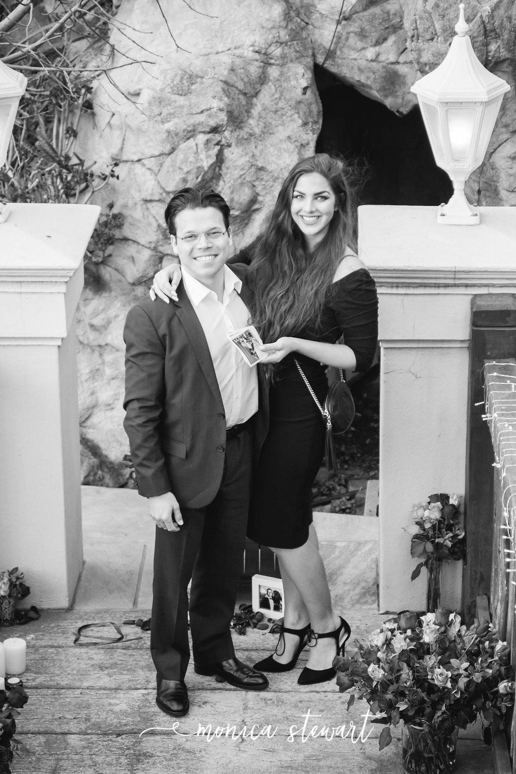 Harry and Natasha romantic marriage proposal