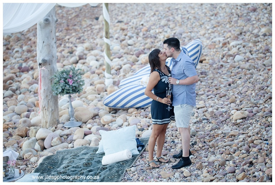 Rui and Joy morning beach proposal