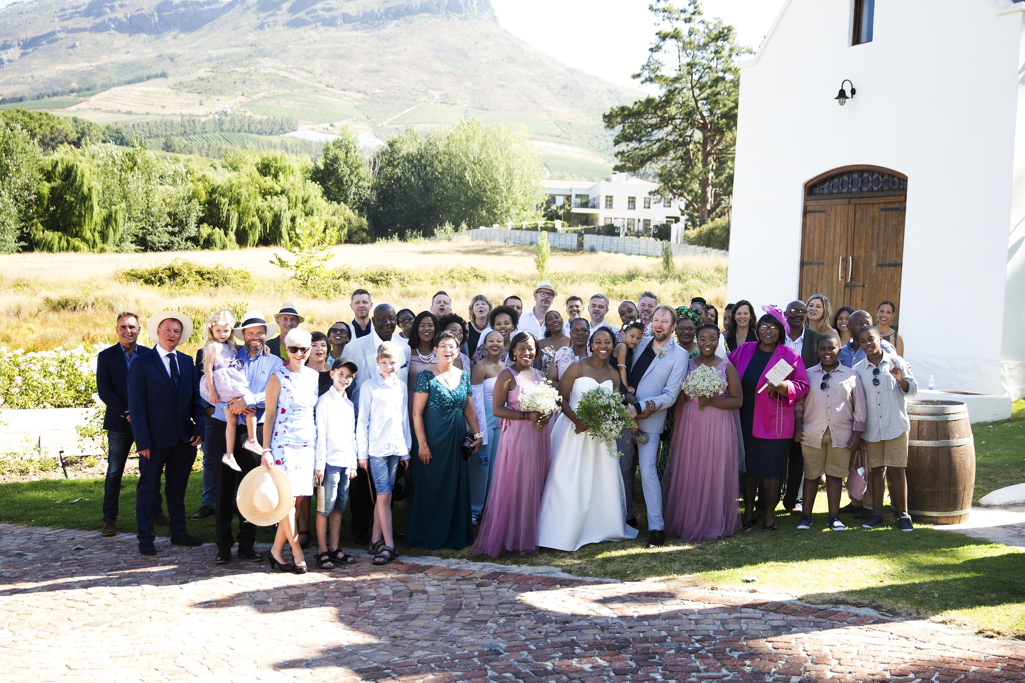Michelle and Stian Wedding