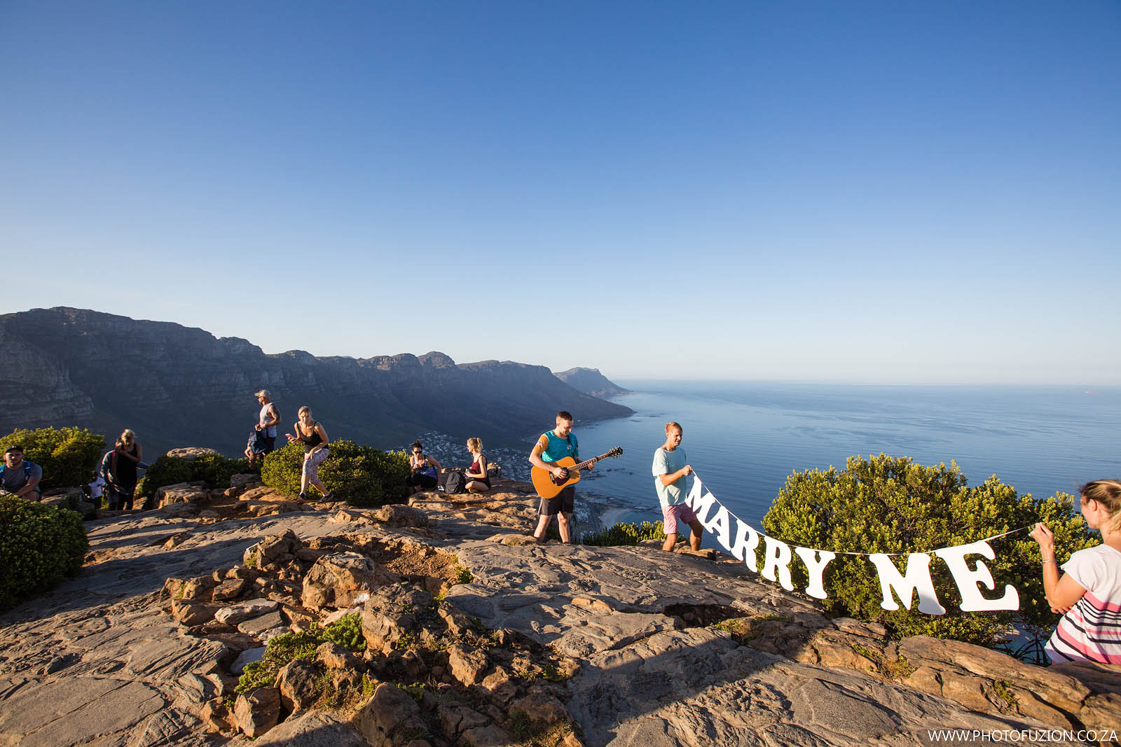 Sridhar and Tony marriage proposal on Lions Head