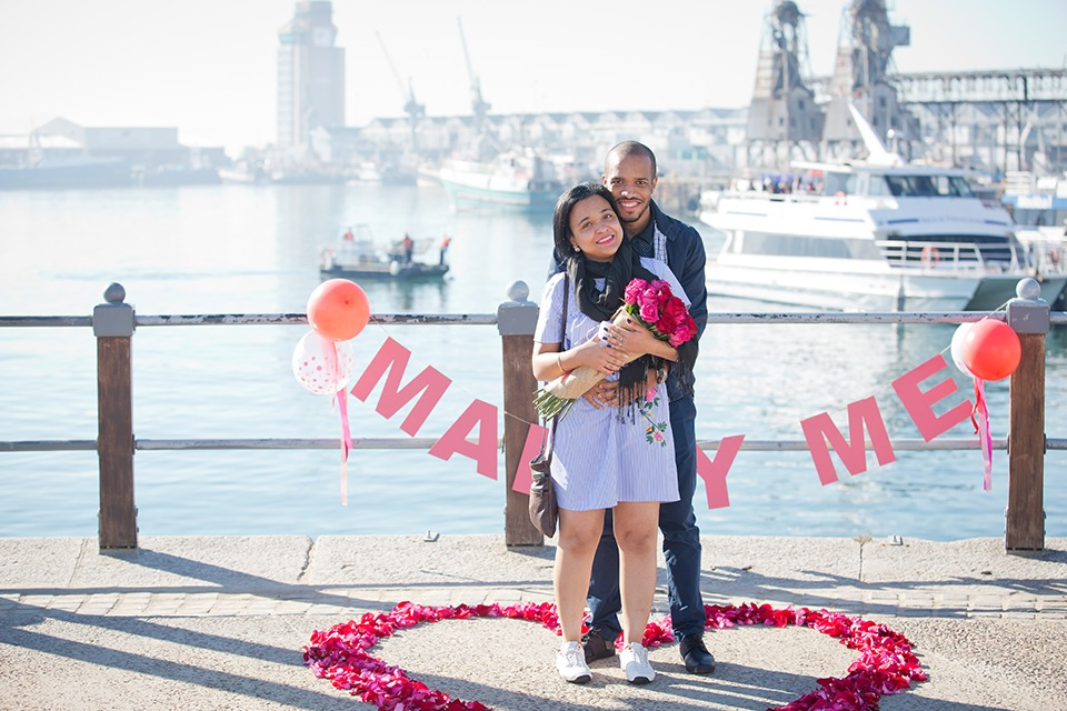 Anisio and Ana Waterfront marriage proposal