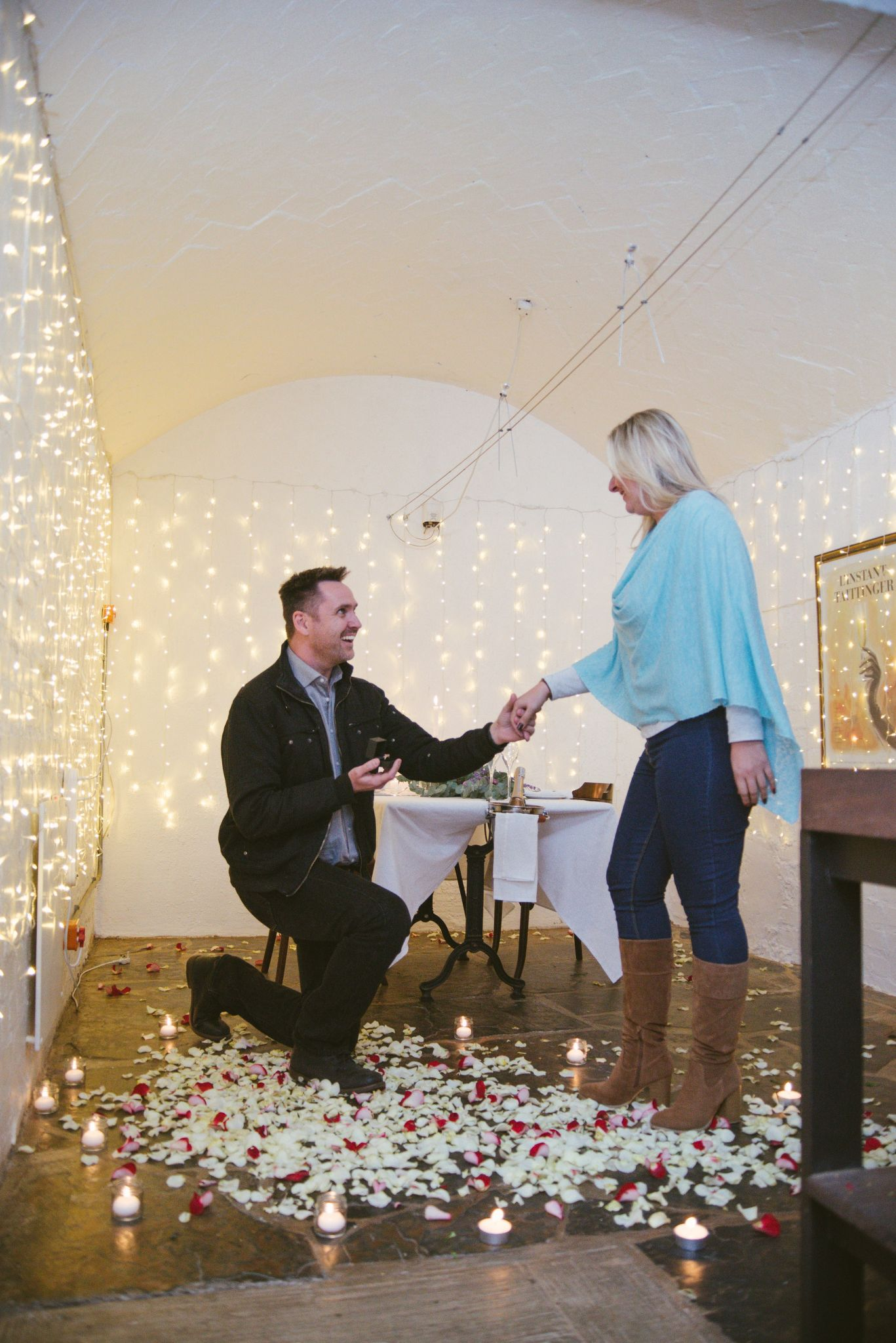 Deon and Nolene wine cellar proposal