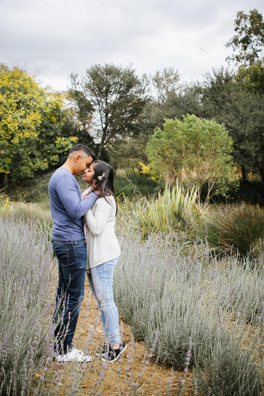 Kimeel and Jerusha picnic proposal