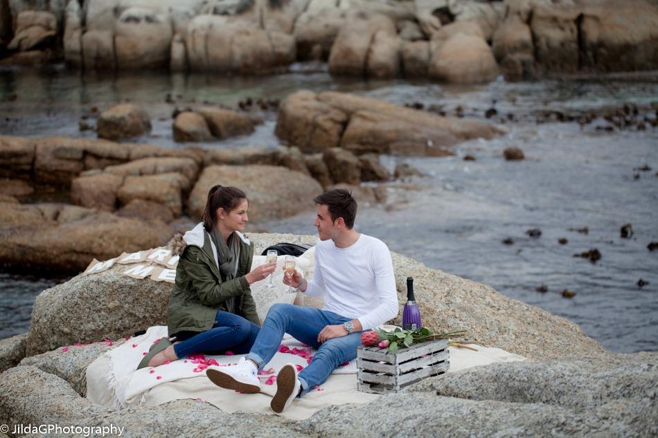 Brendun and Andrea proposal on Bakoven Beach