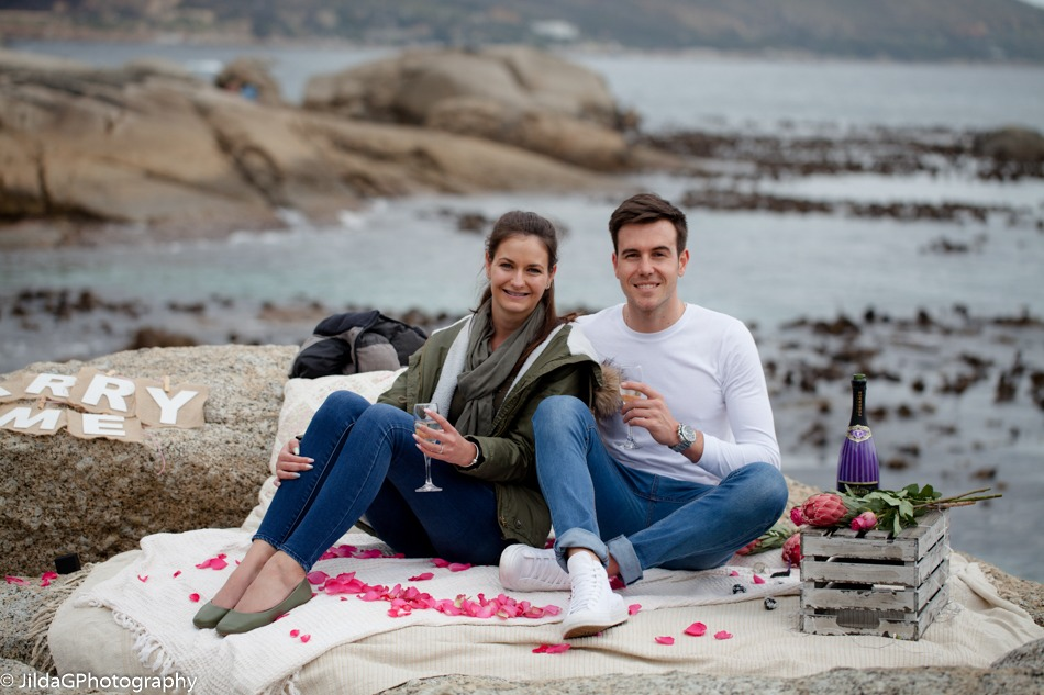 Brendun and Andrea proposal on Bakoven Beach