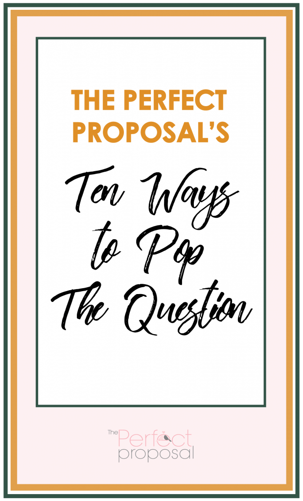 The Perfect Proposal Book Cover