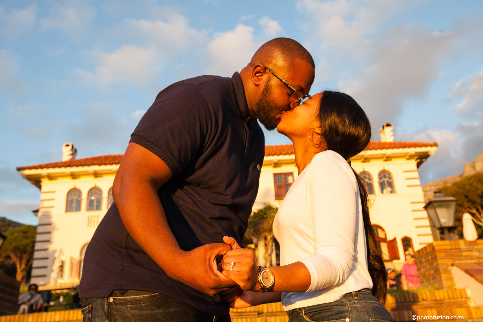 Tshepiso and Seipei love note proposal