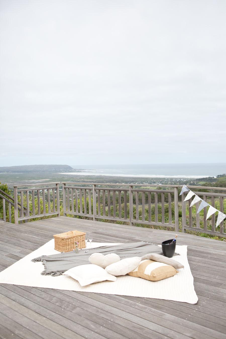 Trishan and Seema proposal at Cape Point Vineyards