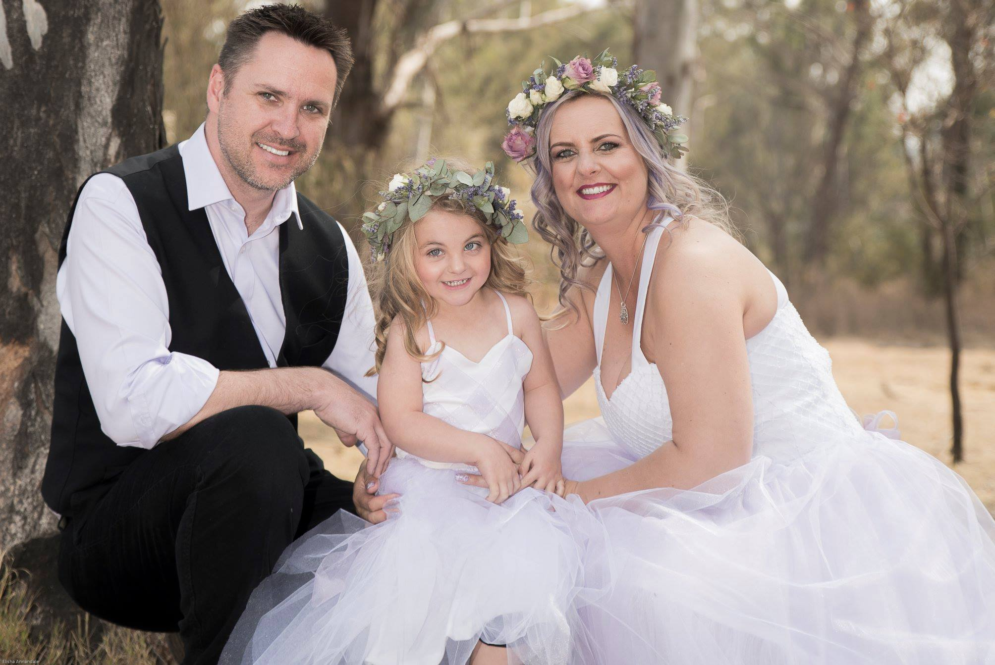 Deon and Nolene intimate family wedding