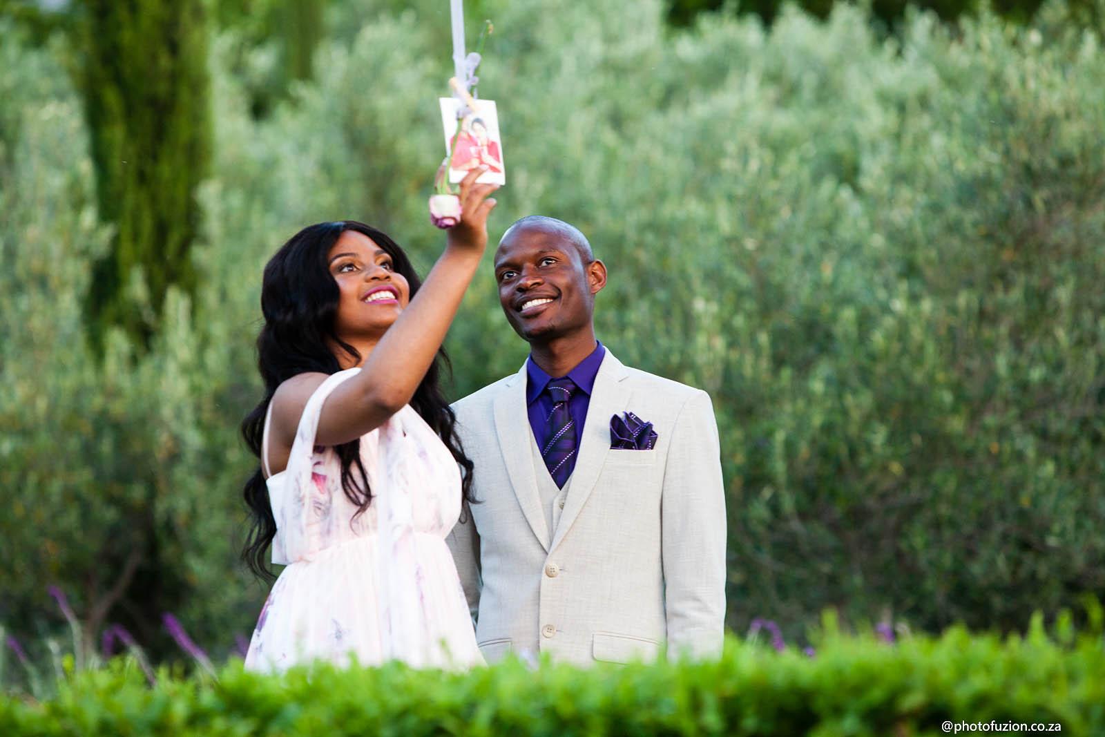 Bukhosi and Ayanda proposal at La Residence