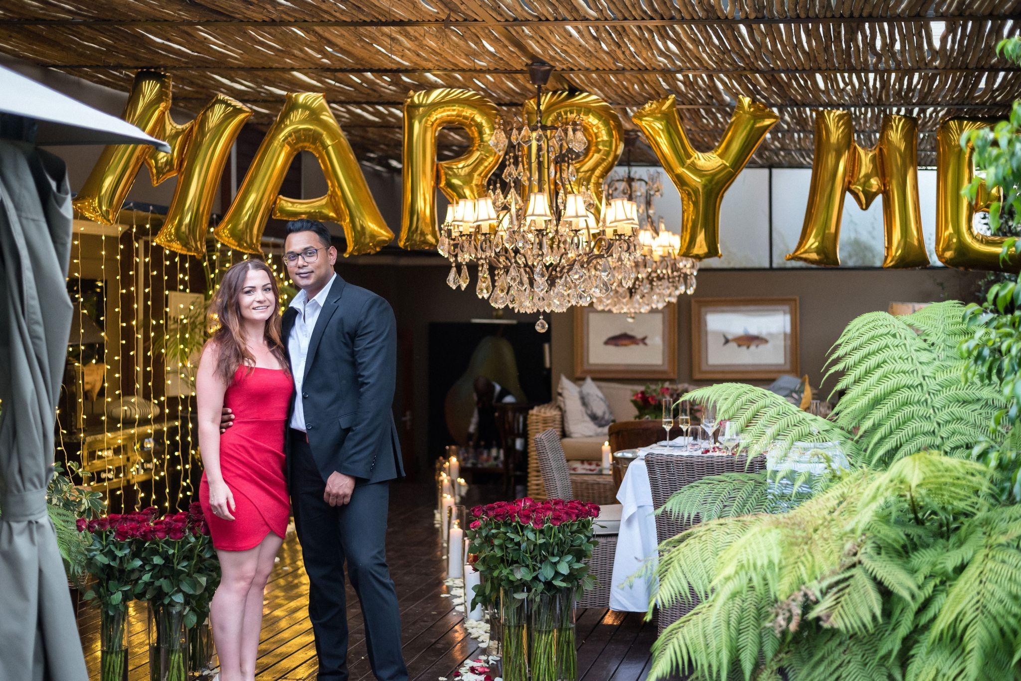 Jehron and Carla's Magical Johannesburg Proposal