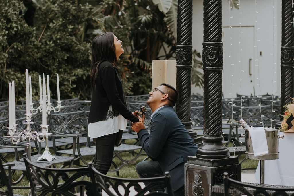 Yatheen and Sanam incredible Oyster Box proposal