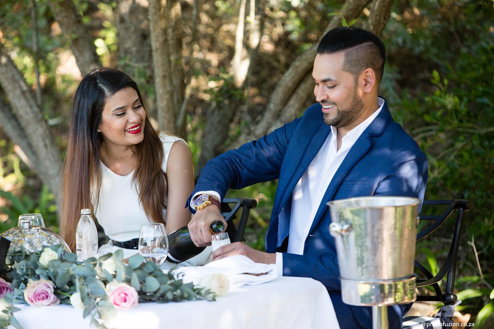 Bhavik and Preyana perfect proposal