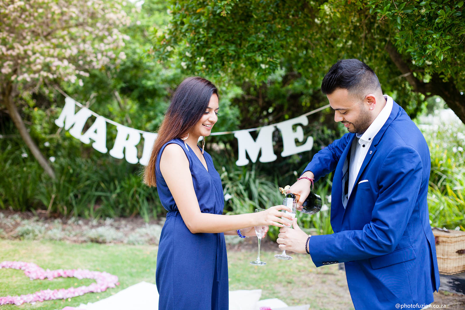 Mishaal and Dharital Proposal at Mount Rochelle