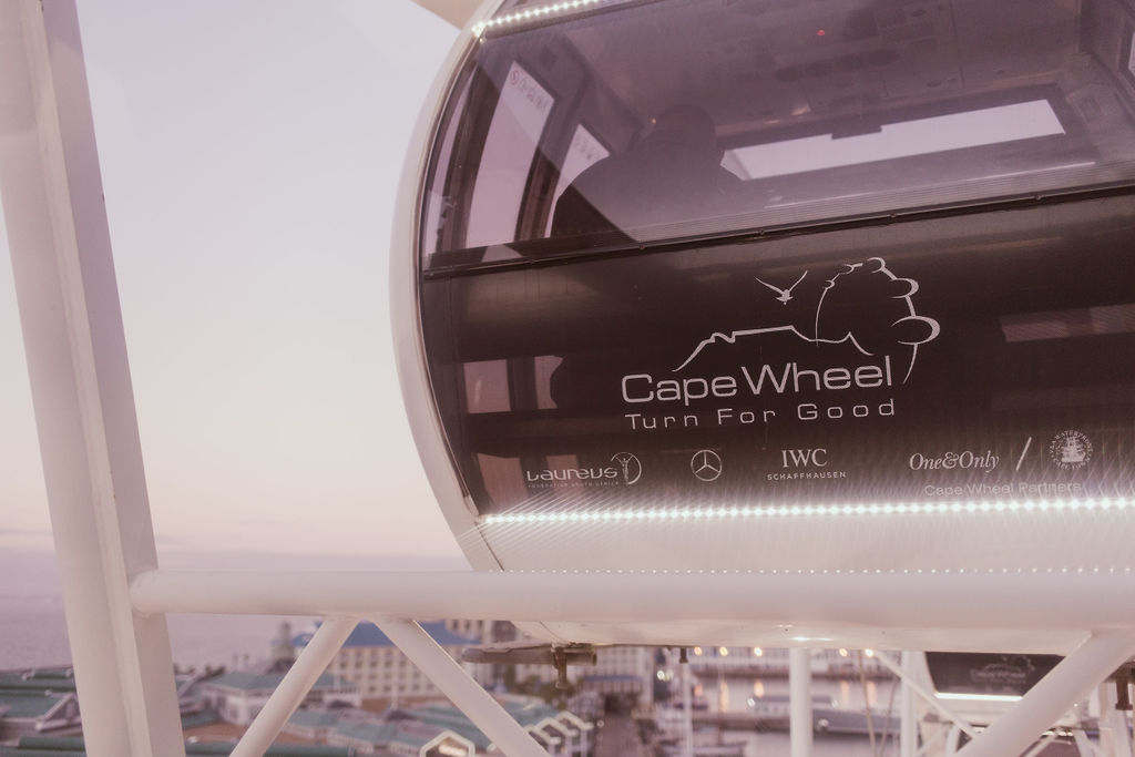 Damien and Ashney Cape Wheel marriage proposal