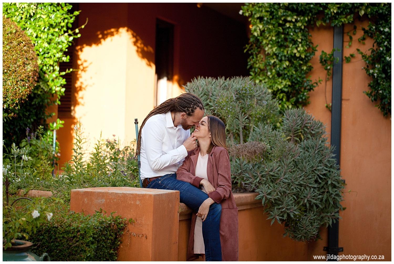 Ibrahim and Andrea proposal at La Residence