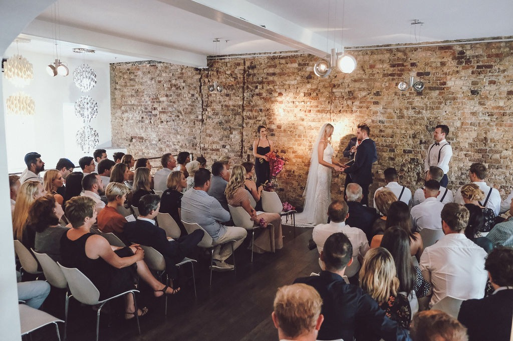 Mai-li and Stuart brewery wedding