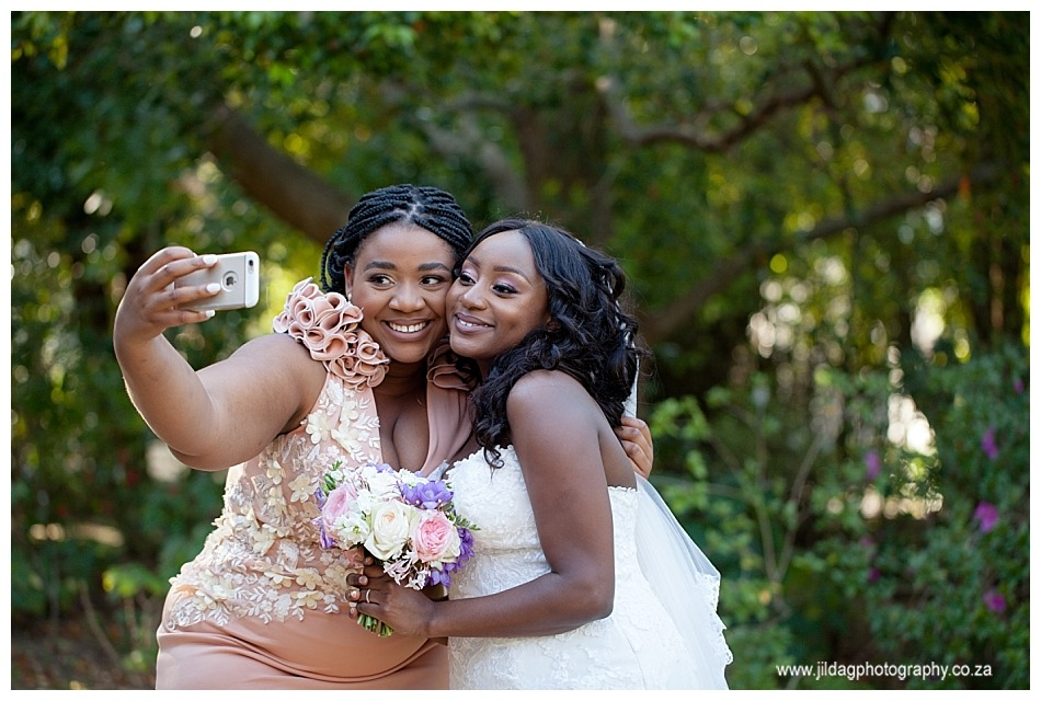 selfie with bride