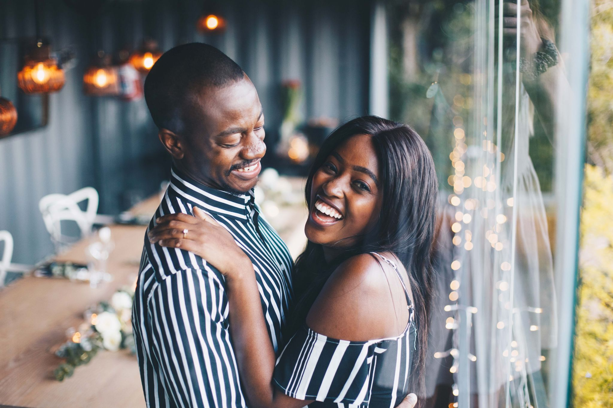 Tanaka and Lerato perfect engagement