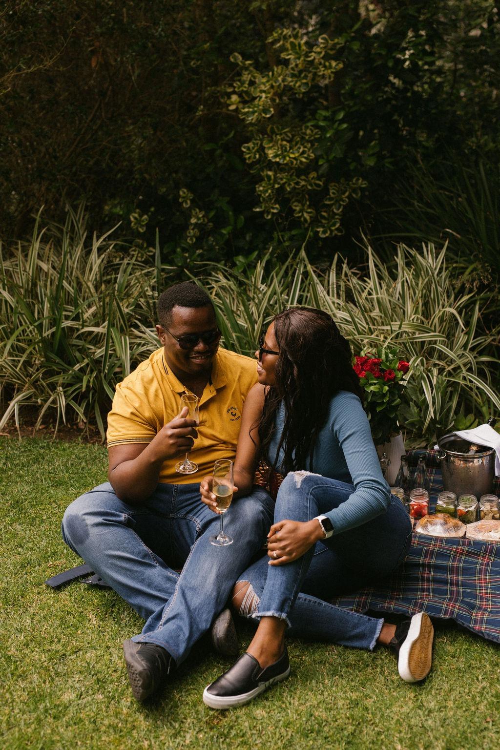 Honey and Chizama perfect proposal