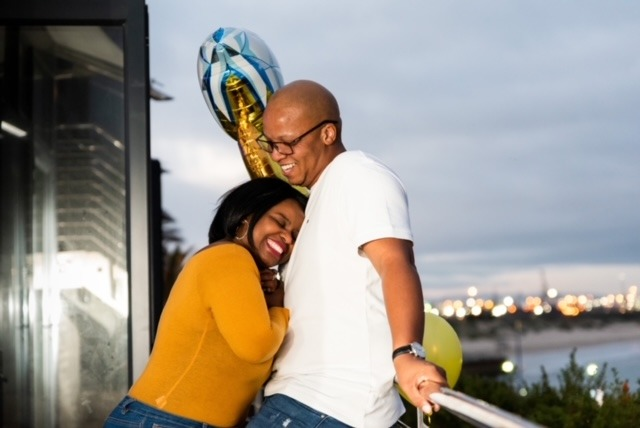Zukisani and Asanele suprise dinner proposal