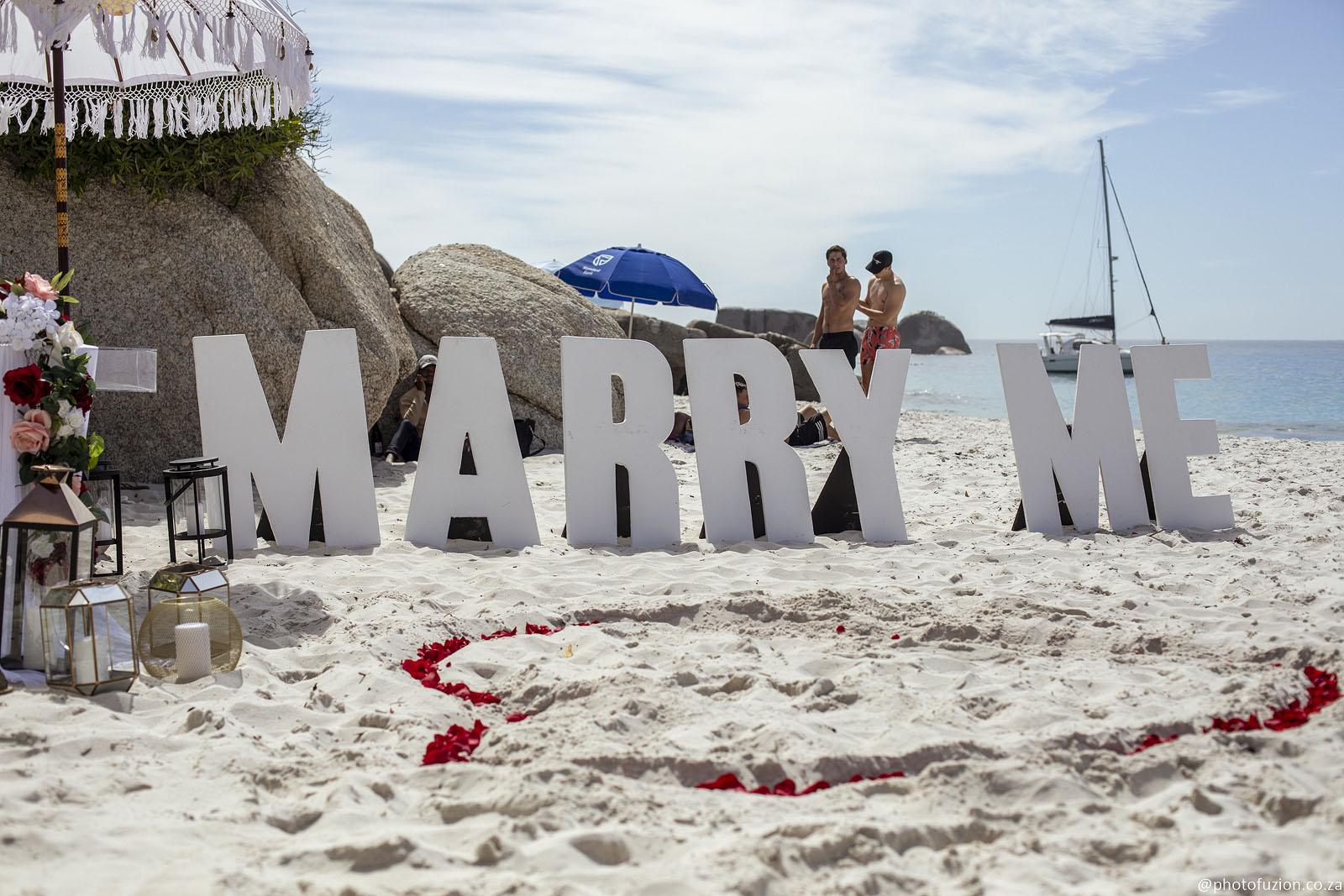 Cape Town Beach Proposal