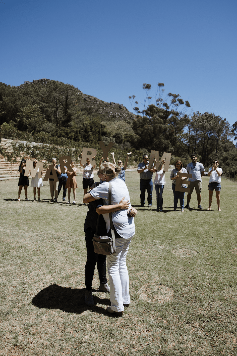 Lyndsay and Yolandi family proposal