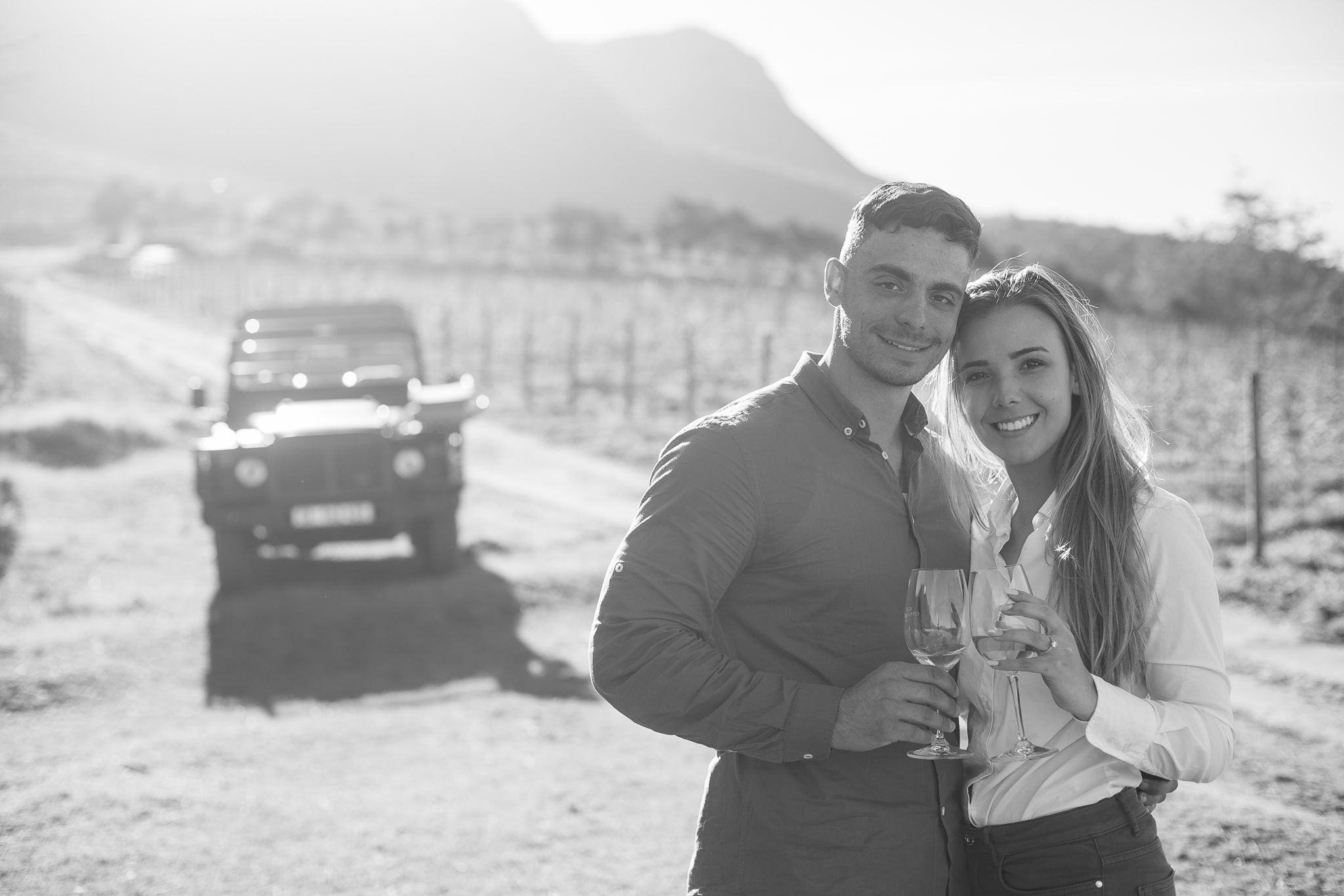 Andrew and Chayla wine farm proposal