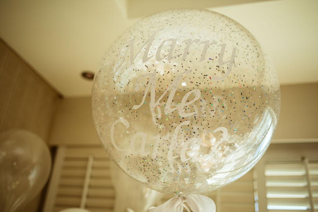 marry me balloon