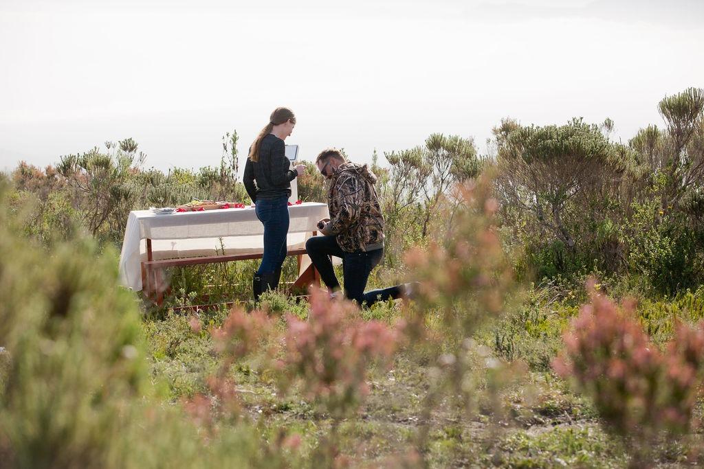 Grootbos marriage proposal